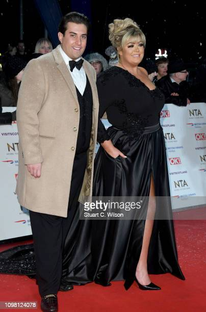 James Argent and Gemma Collins attends the National Television Awards held at the O2 Arena on January 22 2019 in London England