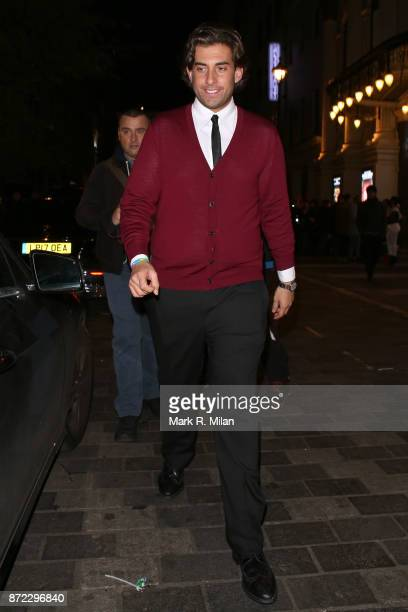 James Argent attending the ITV Gala afterparty at Aqua on November 9 2017 in London England