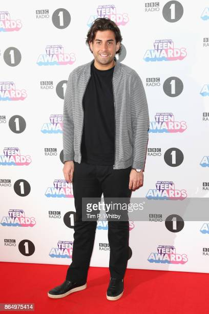 James Argent attends the BBC Radio 1 Teen Awards 2017 at Wembley Arena on October 22 2017 in London England