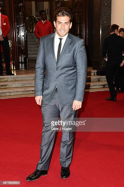 James Argent attends the ITV Gala at London Palladium on November 19 2015 in London England