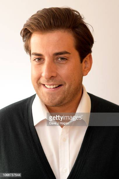 James Argent poses for a portrait backstage at BBC Children In Need's 2018 appeal night at Elstree Studios on November 16 2018 in Borehamwood England