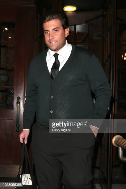 James Argent seen attending Spectacle Wearer of the Year Awards on October 24 2018 in London England