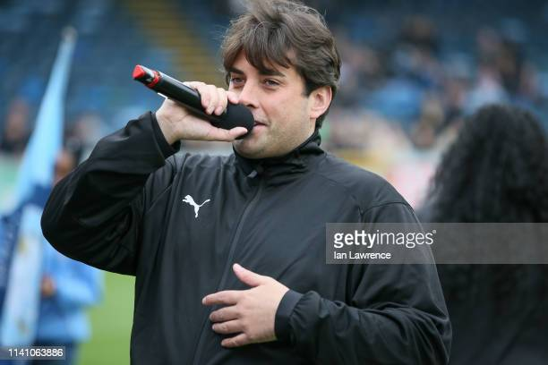 James Argent taking part in Sellebrity Football Charity Match at Adams Park on April 07 2019 in High Wycombe England