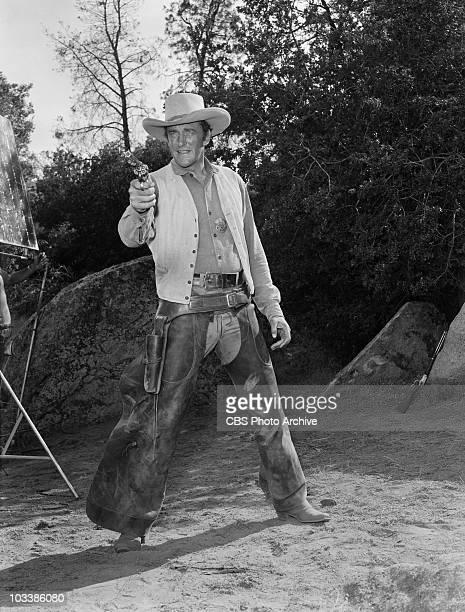 GUNSMOKE James Arness as Marshal Matt Dillon in 'Gunsmuggler' Image dated June 11 1958