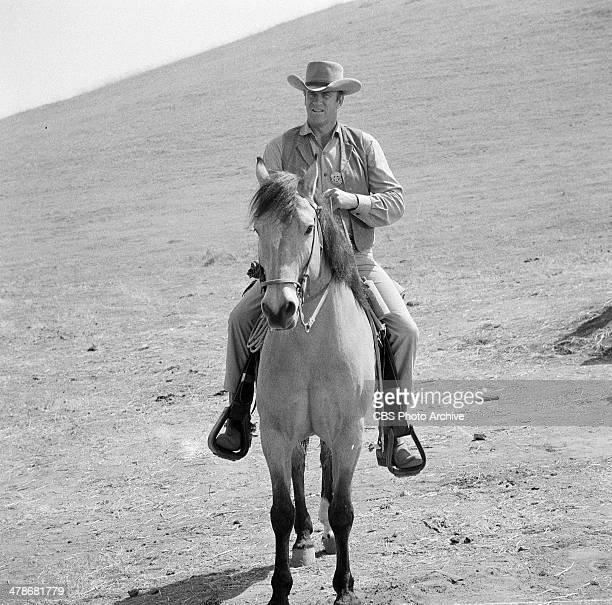 James Arness as Matt Dillon in the GUNSMOKE episode 'Jonah Hutchison' Image dated May 14 1964