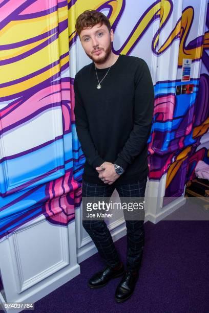 James Arthur at Kiss FM Studio's on June 14 2018 in London England