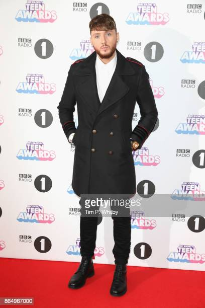 James Arthur attends the BBC Radio 1 Teen Awards 2017 at Wembley Arena on October 22 2017 in London England