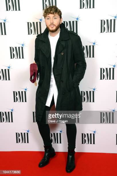 James Arthur attends the BMI Awards at The Dorchester on October 1 2018 in London England