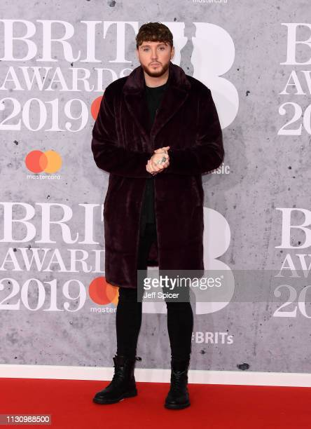 James Arthur attends The BRIT Awards 2019 held at The O2 Arena on February 20 2019 in London England