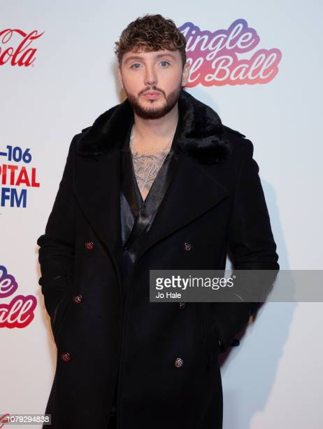James Arthur attends the Capital FM Jingle Bell Ball at The O2 Arena on December 08 2018 in London England