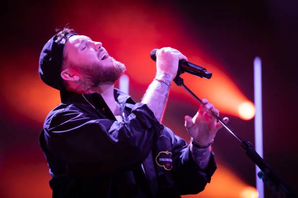 GBR: James Arthur Performs At First Direct Arena, Leeds