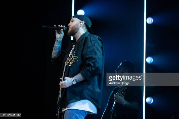 James Arthur performs at First Direct Arena on March 16, 2020 in Leeds, England.