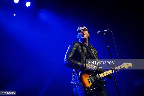James Arthur performs at O2 ABC Glasgow on May 21 2015 in Glasgow United Kingdom
