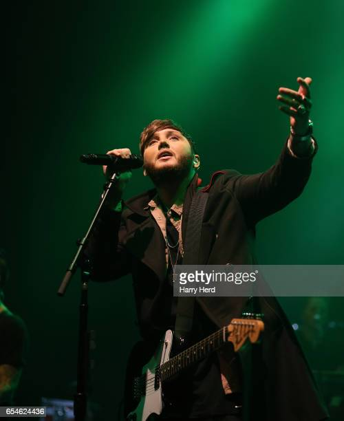 James Arthur performs at O2 Academy Bournemouth on March 17 2017 in Bournemouth England