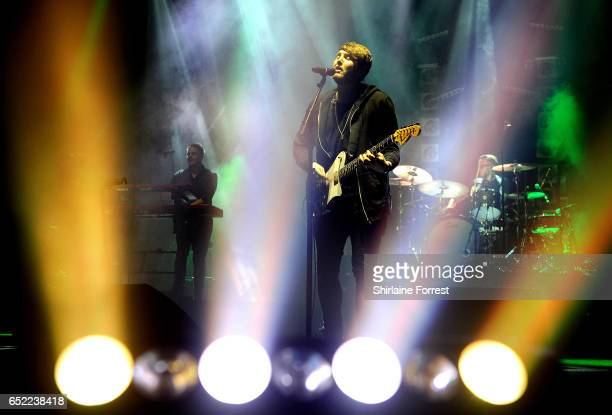 James Arthur performs at O2 Apollo Manchester on March 11 2017 in Manchester United Kingdom