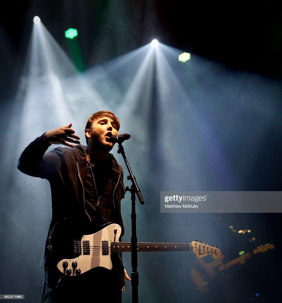 James Arthur Performs At O2 Apollo In Manchester : News Photo