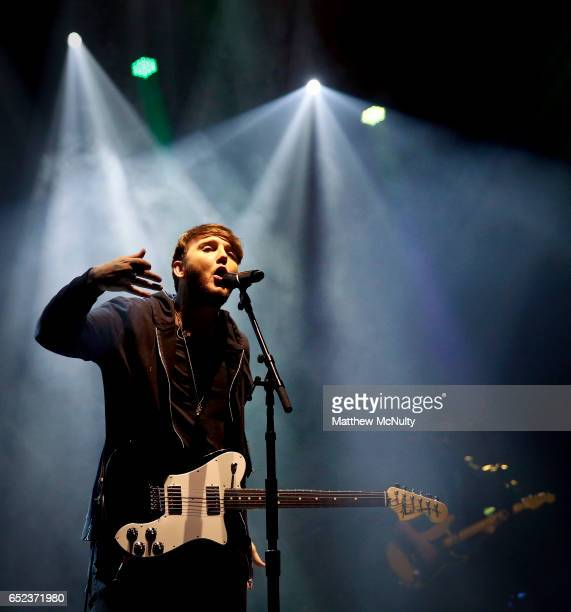 James Arthur performs at O2 Apollo Manchester on March 11 2017 in Manchester England