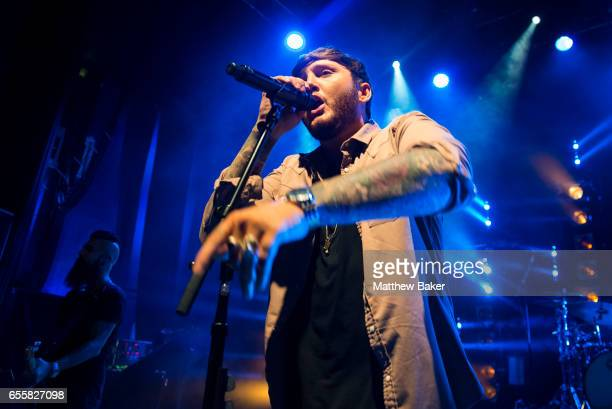 James Arthur performs at Shepherd's Bush Empire on March 20 2017 in London United Kingdom