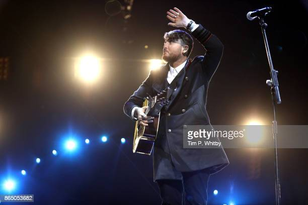 James Arthur performs at the BBC Radio 1 Teen Awards 2017 at Wembley Arena on October 22 2017 in London England