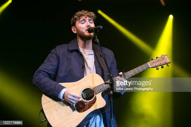 James Arthur performs at the Bristol Skyline Series on August 24, 2018 in Bristol, England.
