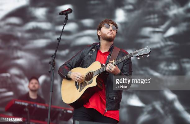 James Arthur performs at the Radio 1 Big Weekend at Stewart Park on May 25 2019 in Middlesbrough England