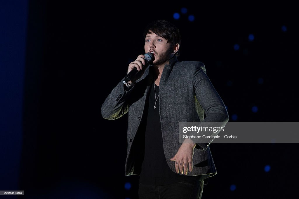 James Arthur performs during the ceremony of the World Music Awards 2014 at Sporting Monte-Carlo on May 27, 2014 in Monte-Carlo, Monaco.