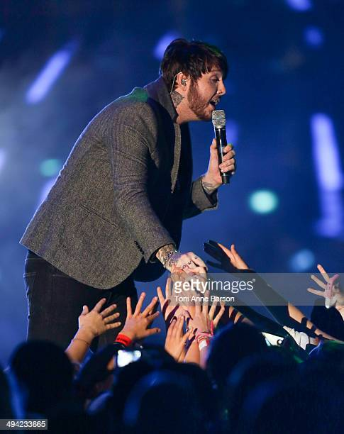 James Arthur performs during the World Music Awards at Sporting MonteCarlo on May 27 2014 in MonteCarlo Monaco