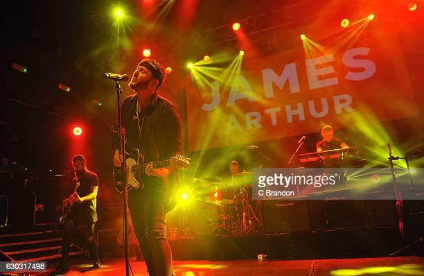 James Arthur performs on stage at Koko on December 20 2016 in London United Kingdom