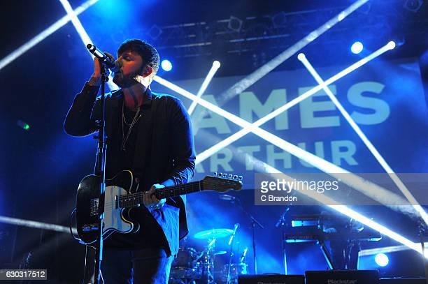 James Arthur performs on stage at Koko on December 20, 2016 in London, United Kingdom.