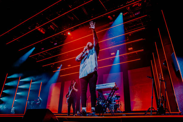 GBR: James Arthur Performs At Motorpoint Arena, Cardiff