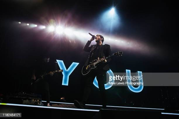 James Arthur performs on stage at Motorpoint Arena on October 19, 2019 in Cardiff, Wales.