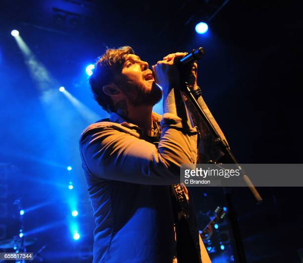 James Arthur performs on stage at the Shepherd's Bush Empire on March 20, 2017 in London, United Kingdom.