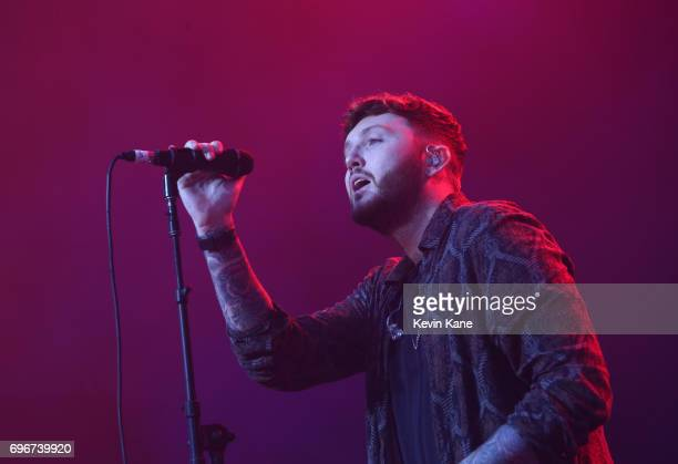 James Arthur performs on stage during the 2017 BLI Summer Jam at Nikon at Jones Beach Theater on June 16 2017 in Wantagh New York