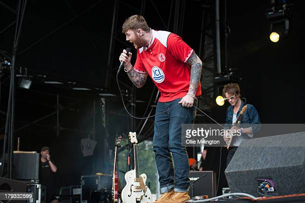 James Arthur performs on stage on Day 2 of Fusion Festival 2013 at Cofton Park on September 1, 2013 in Birmingham, England.