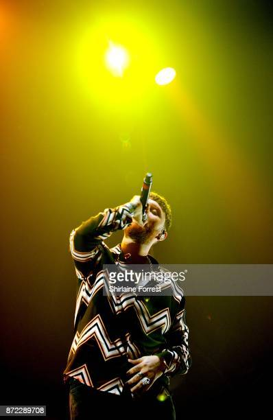James Arthur performs with Rudimental at Key 103 Live at Manchester Arena on November 9 2017 in Manchester England