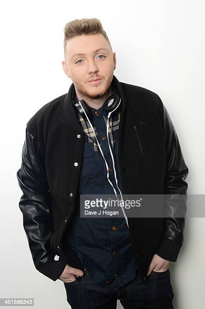 James Arthur poses for a portrait on December 13 2012 in London England