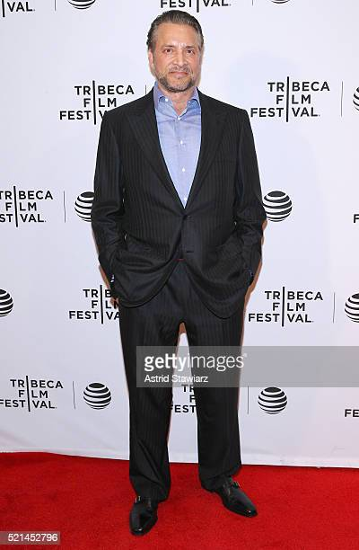 James Arthur Ray attends Enlighten Us The Rise and Fall of James Arthur Ray Premiere 2016 Tribeca Film Festival at Chelsea Bow Tie Cinemas on April...