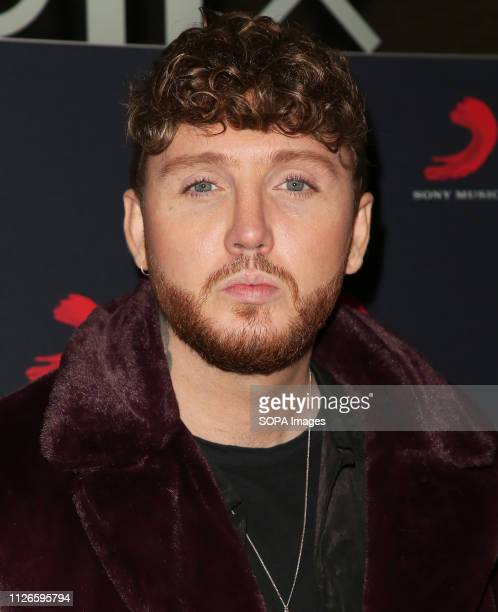 James Arthur seen at the Sony Music After Party for The Brit Awards 2019 at The Shard in London