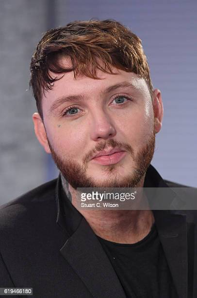 James Arthur takes part in the BUILD Series LDN James Arthur at AOL London on October 31 2016 in London England