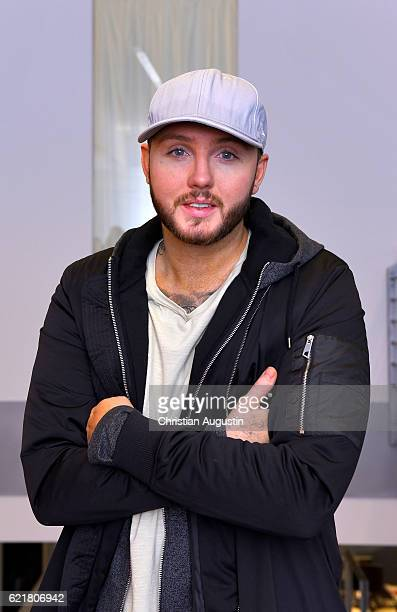 James Arthur visits Radio Hamburg on November 8 2016 in Hamburg Germany