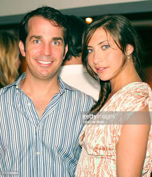 James Ashton and Stella Keitel during Hampton Princess Race, Supported by Clarins Paris & Diane von Furstenberg - After Party at Nello Summertime's...