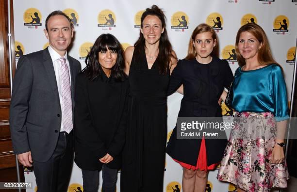 James Ashton, Claudia Winkleman, winning author Rachel Bright, Princess Beatrice of York and Viveka Alvestrand attend Oscar's Book Prize 2017 in...