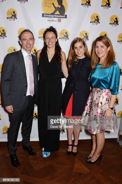 James Ashton, winning author Rachel Bright, Princess Beatrice of York and Viveka Alvestrand attend Oscar's Book Prize 2017 in association with the...