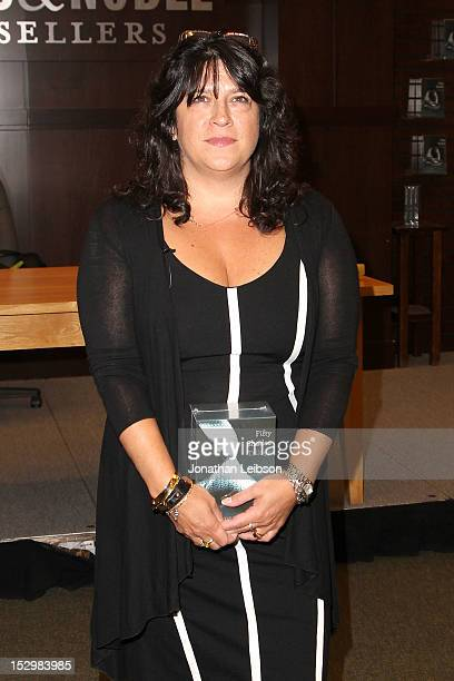 """James attends the """"Fifty Shades Of Grey"""" Author E.L. James Book Signing Event at Barnes & Noble bookstore at The Grove on September 28, 2012 in Los..."""