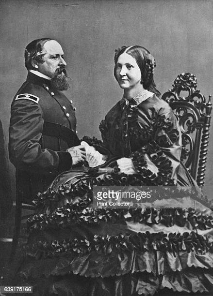 James B and Fannie Ricketts' c1860 James Brewerton Ricketts career officer in the United States Army serving as a Union Army general during the Civil...