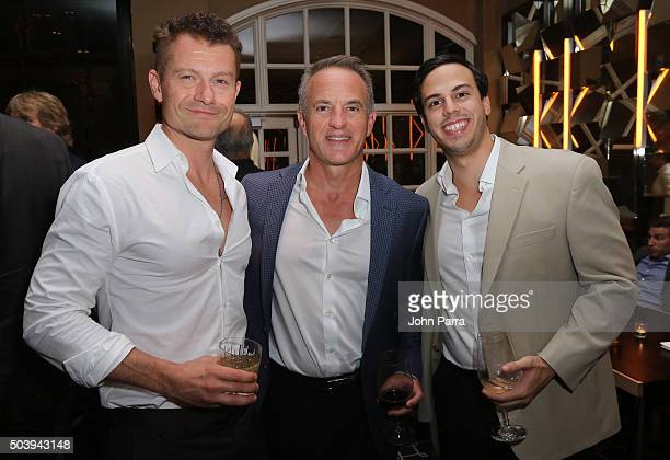 James Badge Dale and guests attend the after party for the Miami Fan Screening of the Paramount Pictures film '13 Hours The Secret Soldiers of...