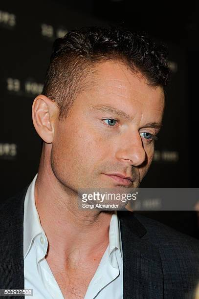 James Badge Dale attends Miami Special Screening of '13 Hours The Secret Soldiers of Benghazi ' at Aventura Mall on January 7 2016 in Miami Florida
