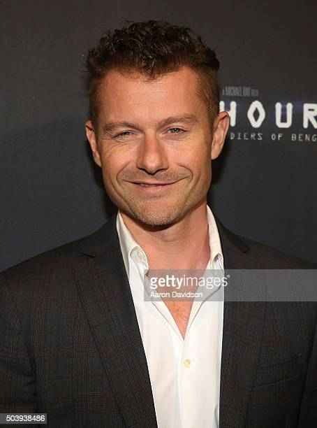 James Badge Dale attends Miami Special Screening of '13 Hours The Secret Soldiers of Benghazi'>> at Aventura Mall on January 7 2016 in Miami Florida
