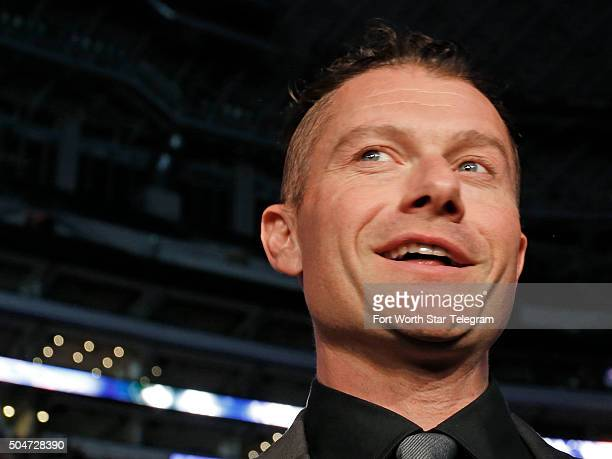 James Badge Dale attends the premiere of '13 Hours The Secret Soldiers of Benghazi' at ATT Stadium in Arlington Texas on Tuesday Jan 12 2016