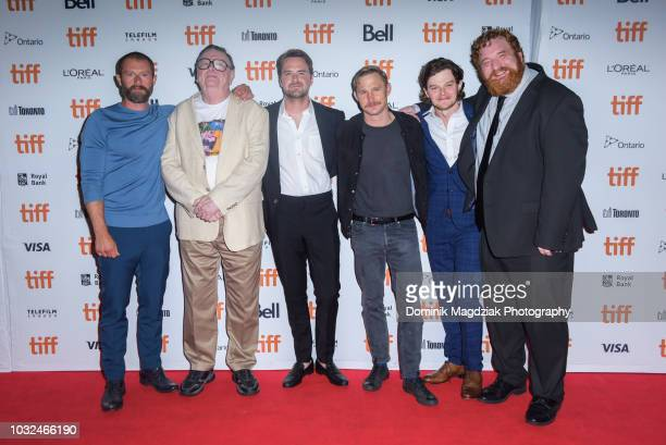 James Badge Dale Gene Jones Henry Dunham Brian Geraghty Robert Aramayo and Happy Anderson attend the Midnight Madness red carpet premiere of The...